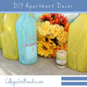 DIY Apartment Decor