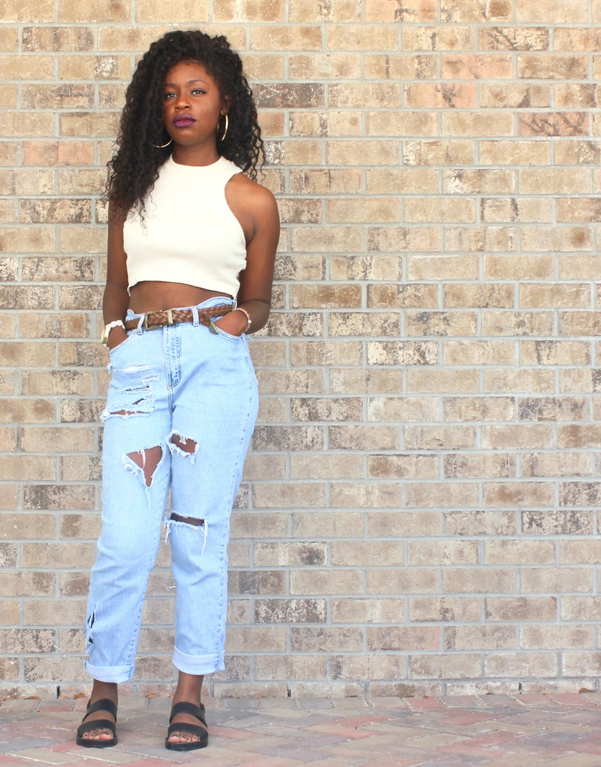 Thrifted Finds: Mom-jeans Monday