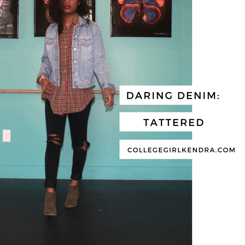 Daring Denim: Tattered