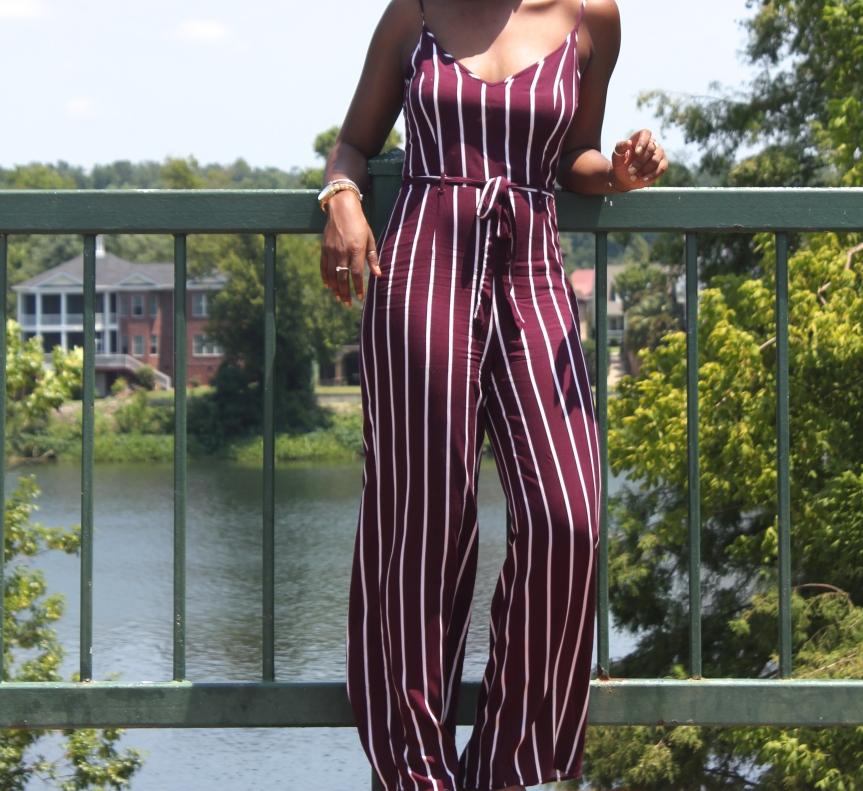 Burgundy Stripes