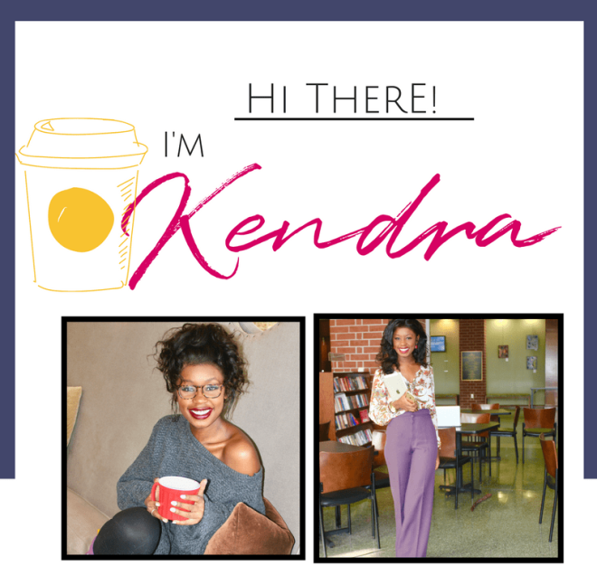 About Me. Coffee and Kendra